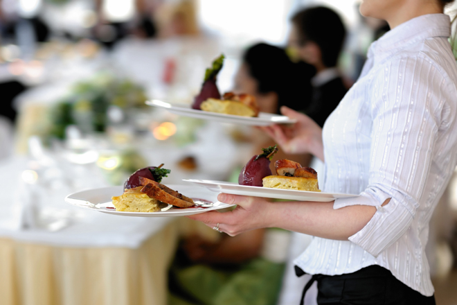 food-prep-caterer-server-waitress-plates-serving